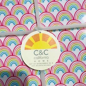 Anthropologie Dining - 8pk - Anthropologie C&C California Rainbow Plates